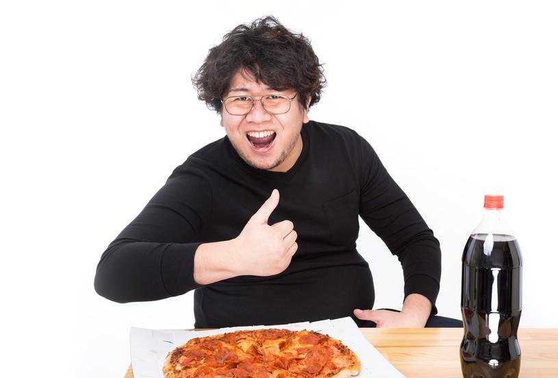 ピザにはコーラ!