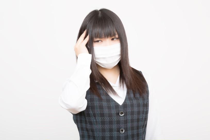 マスクの女性※写真はイメージです
